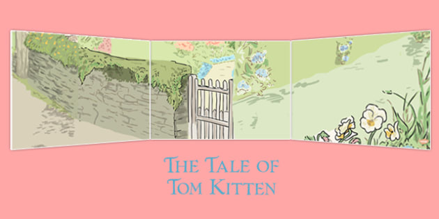 Beatrix Potter - The Tale of Tom Kitten Small World Background - beatrix potter, tom kitten
