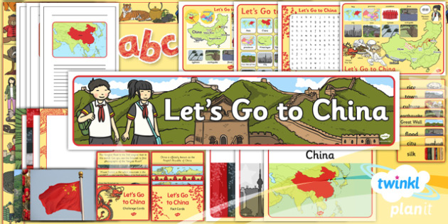 PlanIt - Geography Year 2 - Let's Go to China Unit Additional Resources