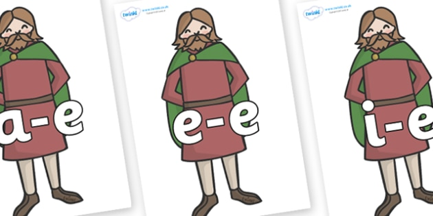 Modifying E Letters on Britons - Modifying E, letters, modify, Phase 5, Phase five, alternative spellings for phonemes, DfES letters and Sounds