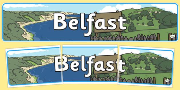 Belfast Role Play Banner - belfast, roleplay, banner, display
