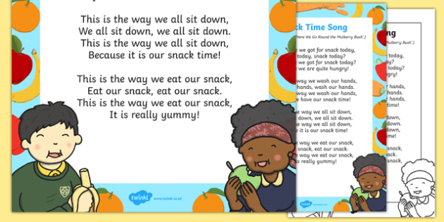 Snack Time Song