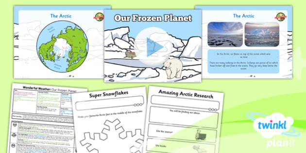PlanIt Geography Y1 Wonderful Weather Lesson 6 Our Frozen Planet