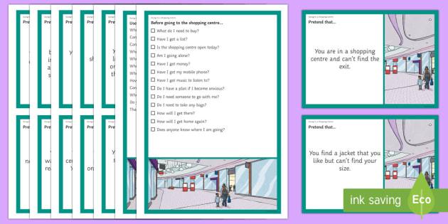 Going to a Shopping Centre – Scenarios and Social Scripts
