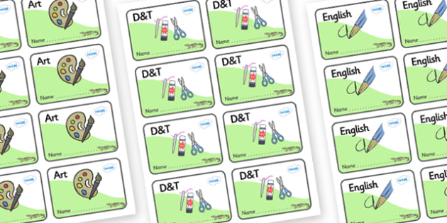 Crocodile Themed Editable Book Labels - Themed Book label, label, subject labels, exercise book, workbook labels, textbook labels