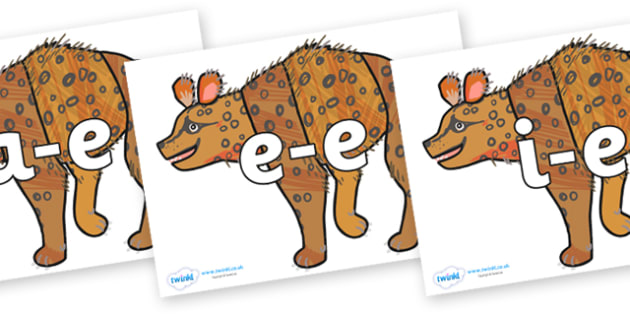 Modifying E Letters on Hyena to Support Teaching on The Bad Tempered Ladybird - Modifying E, letters, modify, Phase 5, Phase five, alternative spellings for phonemes, DfES letters and Sounds