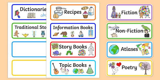 book corner library labels book label library shelf. Black Bedroom Furniture Sets. Home Design Ideas