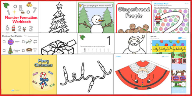 SEN Christmas Craft and Activity Pack - sen, christmas, craft