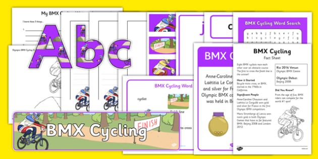 Rio 2016 Olympics BMX Cycling Resource Pack - rio 2016, rio olympics, 2016 olympics, bmx cycling, resource pack