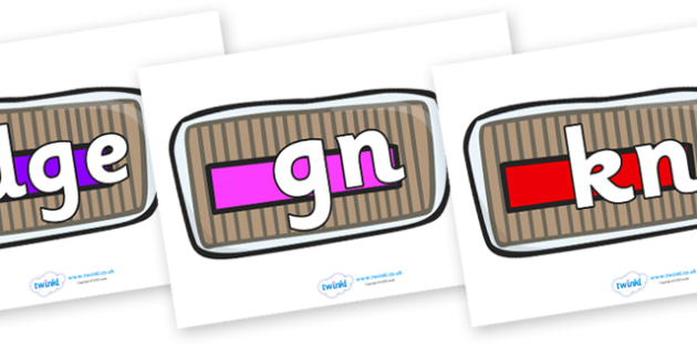 Silent Letters on Bread Loaves - Silent Letters, silent letter, letter blend, consonant, consonants, digraph, trigraph, A-Z letters, literacy, alphabet, letters, alternative sounds