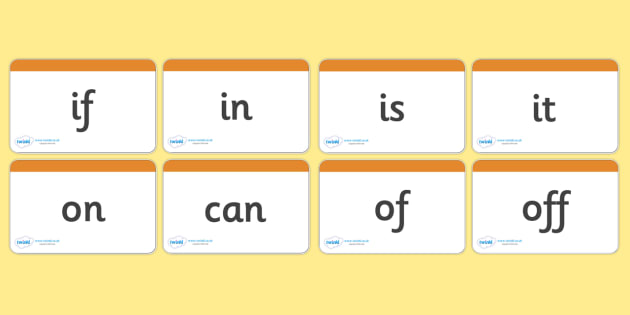 Phase 2 Decodable / Tricky Word Cards - Tricky word cards, decodable word cards, Letters and Sounds, Phase 2, Phase two, Foundation, Literacy, reading sentences, captions