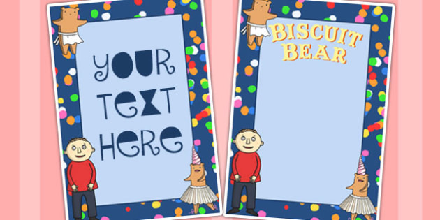 Editable Posters to Support Teaching on Biscuit Bear - Biscuit, Bear, Editable, Posters