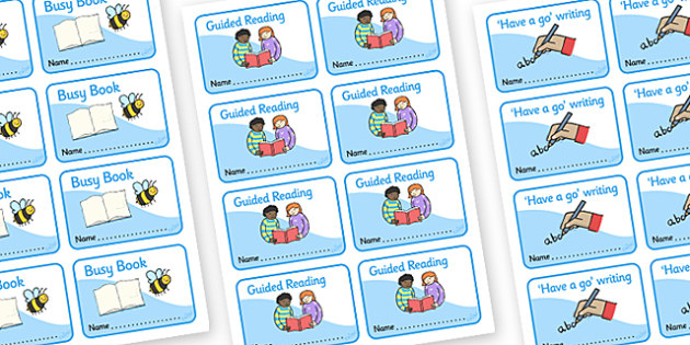 Additional Book Labels - KS1, EYFS, Foundation stage, book label, label, subject labels, exercise book, workbook labels, textbook labels