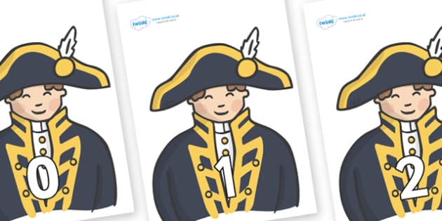 Numbers 0-100 on Admirals - 0-100, foundation stage numeracy, Number recognition, Number flashcards, counting, number frieze, Display numbers, number posters