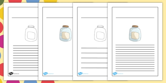 Dream Jar Writing Frames to Support Teaching on The BFG - bfg, dream jar, writing frame