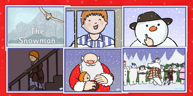 Story Sequencing to Support Teaching on The Snowman - sequencing, story sequencing, stories, the snowman, the snowman story, the snowman sequencing, story, story resources, tells the story, reading, books, book