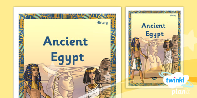 PlanIt - History UKS2 - Ancient Egypt Unit Book Cover - planit, history, book cover, ancient egypt