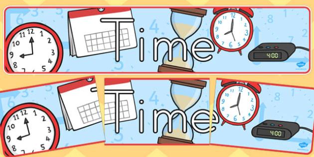 Time Display Banner - australia, time, display banner, display