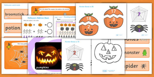 EYFS Halloween Teaching and Activity Pack - halloween, pack