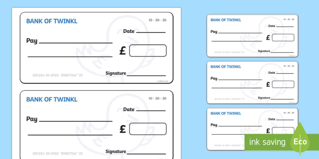 Toy Shop Cheque Book - Toy shop Role Play, toy shop, toy shop resources, toys, till, money, customer, dolls, lego, ben 10, role play, display, poster, Role Play Cheque Books - Cheque Book, Role Play, Money, Shop, Till, Purchase, topic, activity
