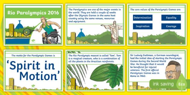 Australia Rio Paralympics 2016 Display Posters-Australia