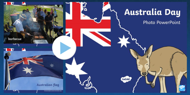 Australia Day Photo PowerPoint - australia, day, photo, slides
