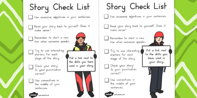 Story Mountain Guide Writing Prompts Checklist - australia, story