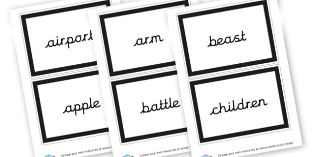 Nouns Cards - KS2 Nouns, Words and Vocabulary, Literacy, KS2 English