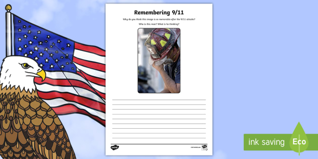 Remembering 9/11 Writing Stimulus Picture - Patriot Day, September 11th, World Trade Center, 9/11, remembering, heros, writing, stimulus, Septem