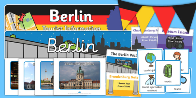 Berlin Tourist Information Role Play Pack - role-play, berlin