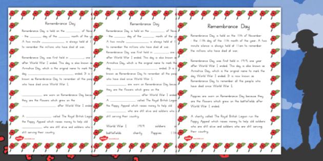 Remembrance Day Quiz Sheet - australia, remembrance day, quiz