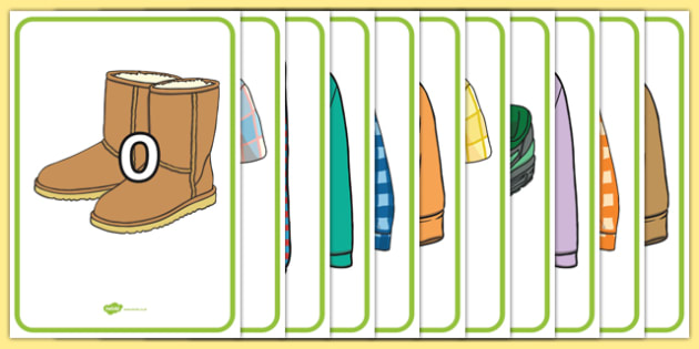 Numbers 0-100 on Clothing - numbers, 0-100, clothes, clothing, numeracy, maths, mathematics, number, display