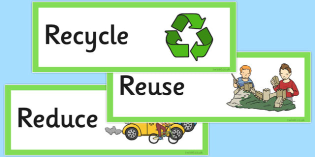 Reduce, Reuse, Recycle Labels - reduce, reuse, recycle, labels, display, label, eco
