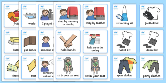 SEN Communication Cards Pack (Boy) - education, home school, child development, communication cards, children activities, free, kids