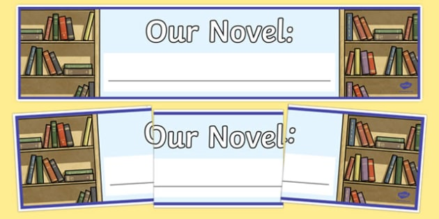 Novel Display Banner-Irish