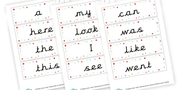 Tricky Word Flashcards - Tricky Words Visual Aids Primary Resources, education, home school