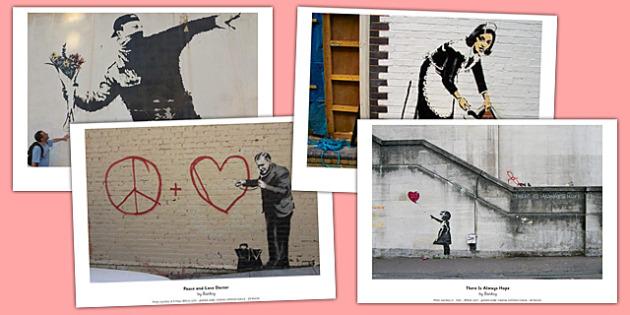 Banksy Display Photos - banksy, display photos, display, photos, art, famous artist