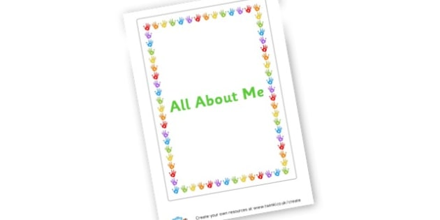 All About Me poster - Ourselves & All About Me Primary Resources, body, hygiene, family