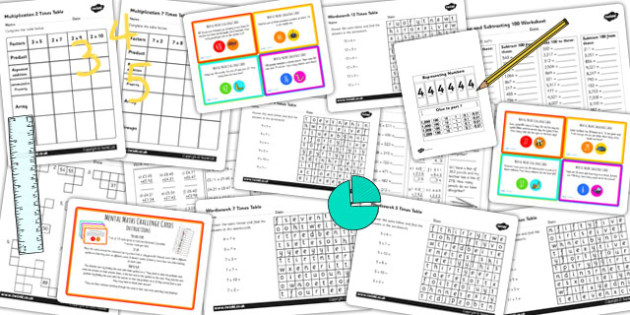 Parents KS2 Maths Resource Pack - parents, ks2, maths, pack