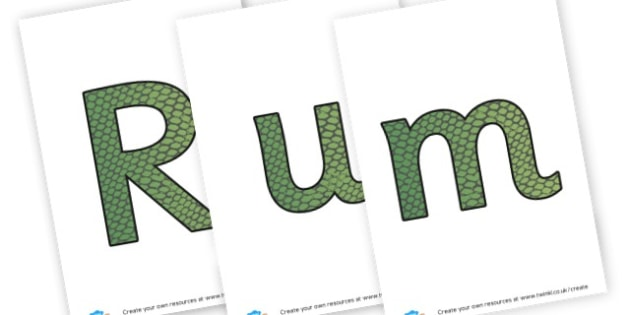 jungle banner - display lettering - Jungle & Rainforest Display Primary Resources, Display, Rainforest