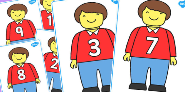 Toy Man Number Bond Matching Cards to 10 - number bonds, toy