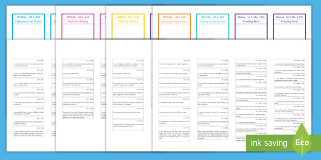 CfE First Level Writing Assessment Bookmark - cfe, first level, writing, assessment, bookmarks, assess, first