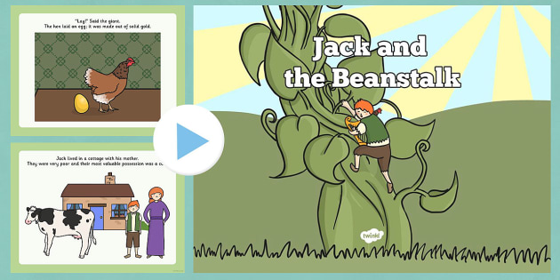 Jack and the Beanstalk Story PowerPoint - jack and the beanstalk, jack and the beanstalk story sequencing, story sequencing powerpoint, powerpoint presentation, story sequencing powerpoint presentation, jack and the beanstalk presentation