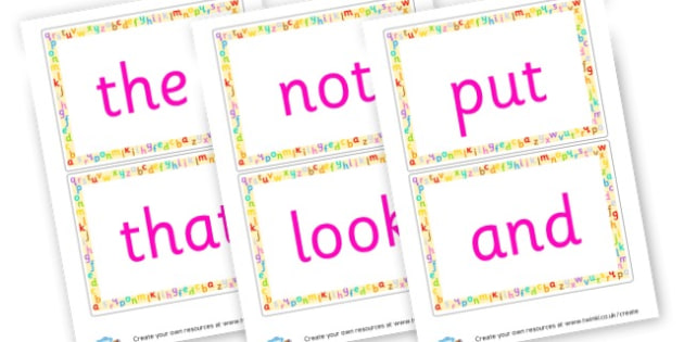 Common Words - Next 200 Common Words Primary Resources, Letters, sounds, phonics