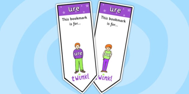 ure Sound Family Editable Bookmarks - ure sound family, editable bookmarks, bookmarks, editable, behaviour management, classroom management, rewards, award