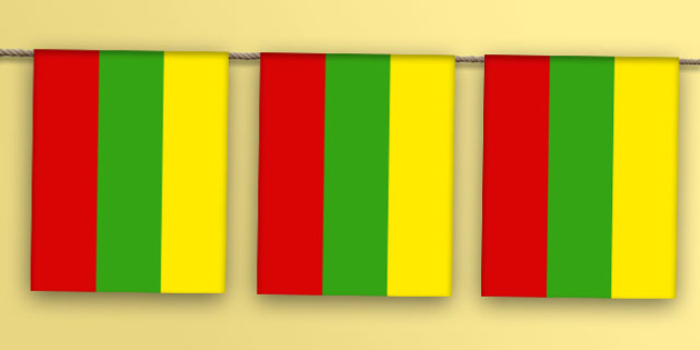Lithuania Flag Bunting - lithuania flag, lithuania, flag, bunting, display bunting, display