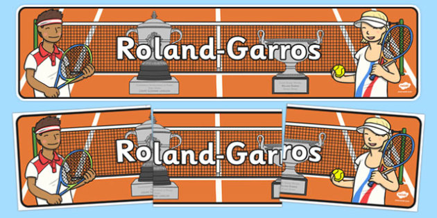Roland-Garros Display Banner - roland-garros, french opens, stadium, display banner