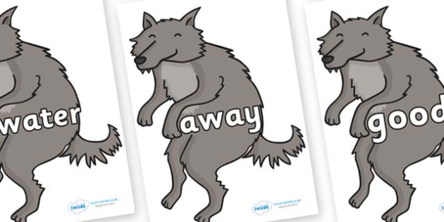 Next 200 Common Words on Wolf - Next 200 Common Words on  - DfES Letters and Sounds, Letters and Sounds, Letters and sounds words, Common words, 200 common words