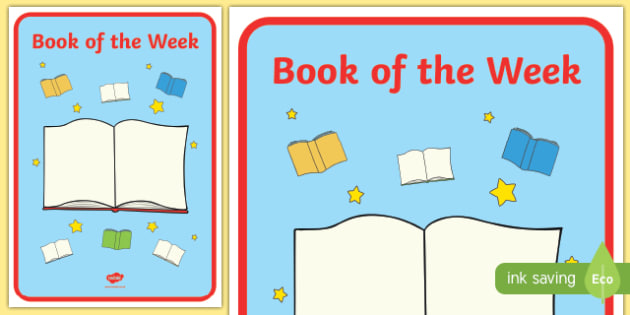 English Book of the Week Display Poster - english, book of the week, display poster, display, poster