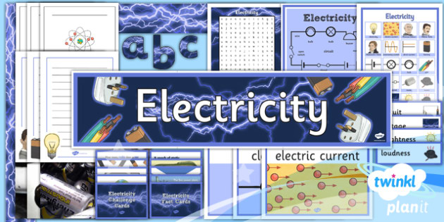 PlanIt - Science Year 6 - Electricity Unit Additional Resources - planit, science, year 6, electricity, additional resources