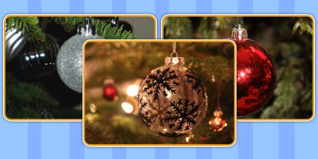 Christmas Bauble Display Photos - christmas, bauble, display